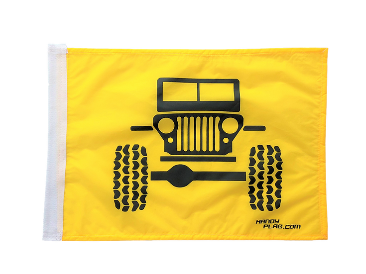 Jeep Front Replacement Flag