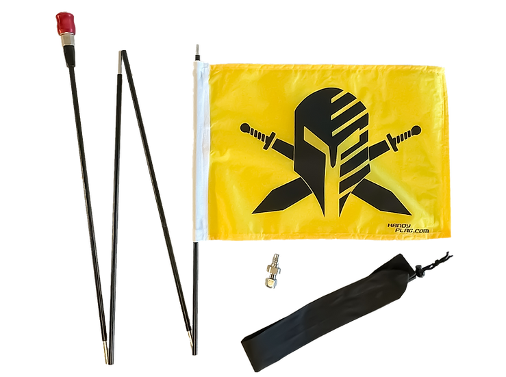 Warrior Handy Flag Kit