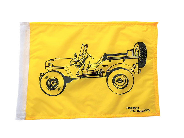 Willys Replacement Flag