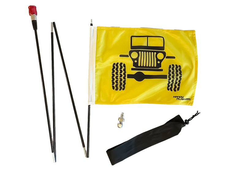 Jeep Front Handy Flag Kit