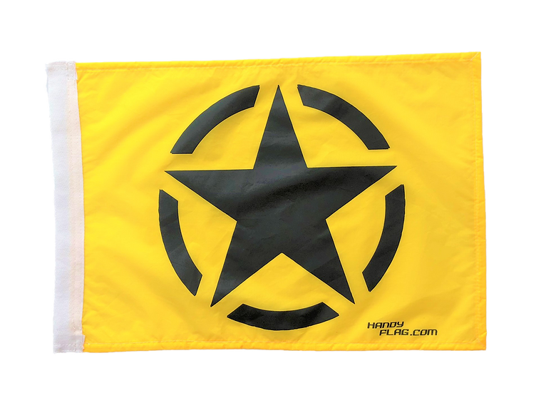 Army Star Replacement Flag