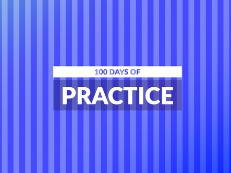 100 Days of Practice. Day 8
