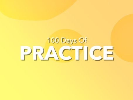 100 Days of Practice. Day 3