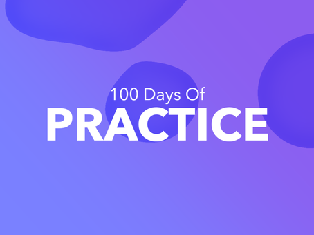 100 Days of Practice. Day 1