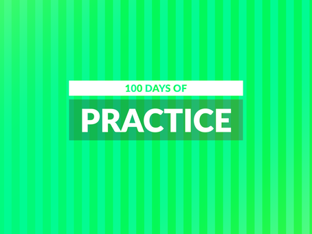 100 Days of Practice. Day 9
