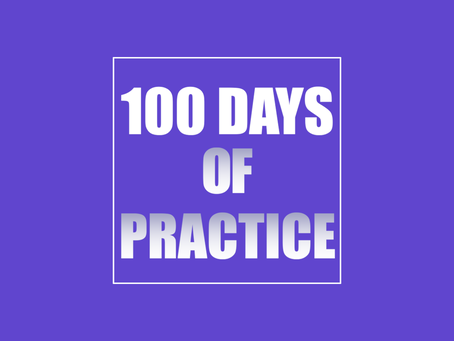 100 Days of Practice. Day 10