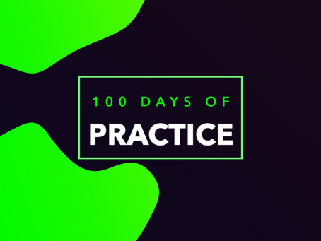 100 Days of Practice. Day 5
