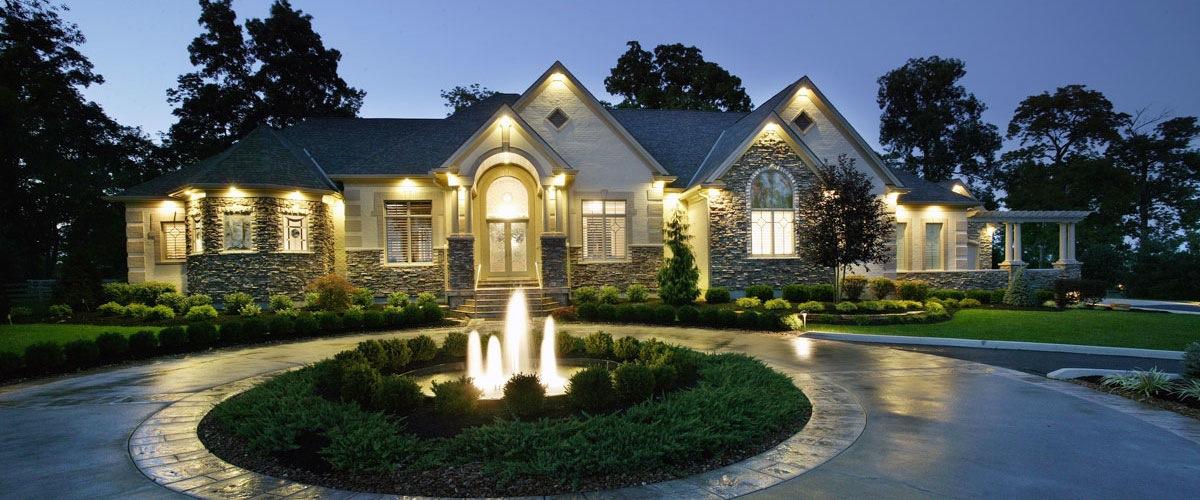 Robert Lucke Homes, exterior, elevation, ranch, cincinnati, ohio, luxury homes,