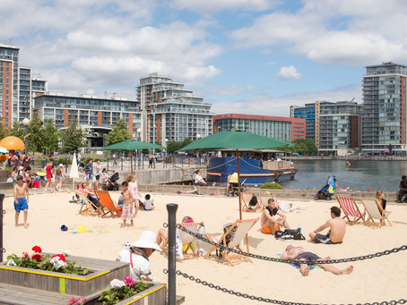 The Docklands Urban Beach Returns For Summer'18
