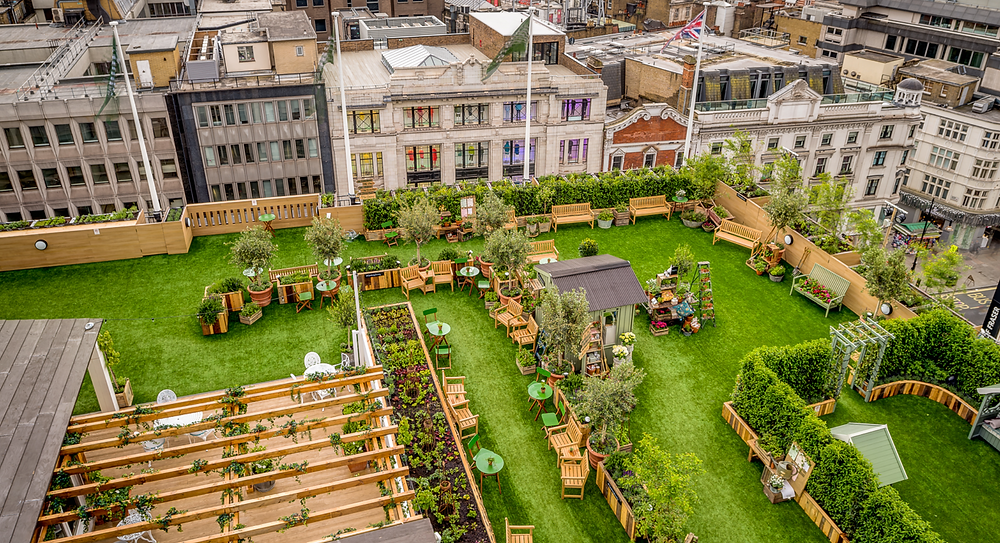 John Lewis Rooftop Garden