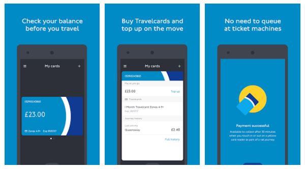 TFL Oyster App