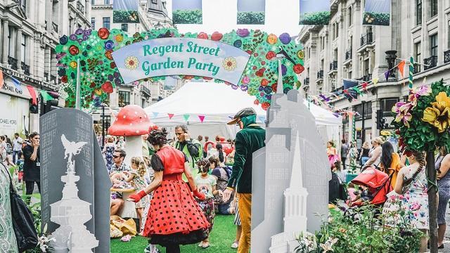 regent street summer