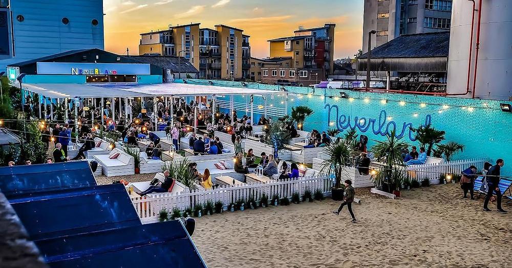 neverland fulham beach club