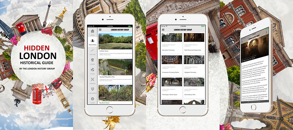 Hidden London App