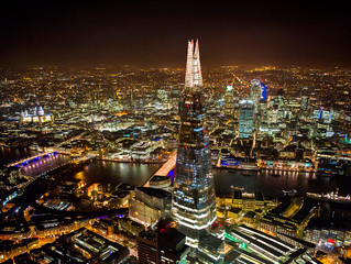 Champagne Showers at the Shard