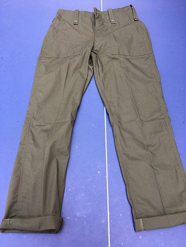 Olive Green Fatigue Pants