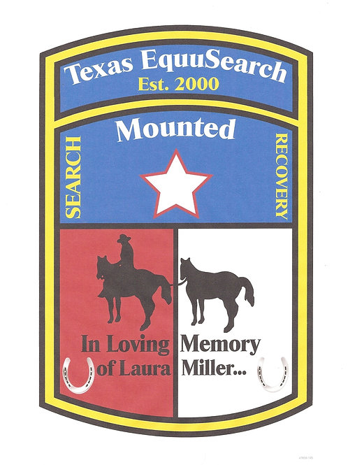 Portion of each sale will benefit Texas Equusearch Search and Rescue