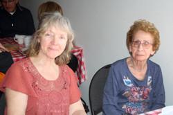 Sylvie Claude et Jeannette Nault