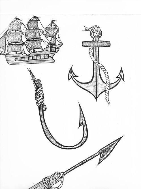 Nautical Sketch
