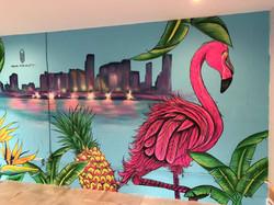 Miami Mural Painting