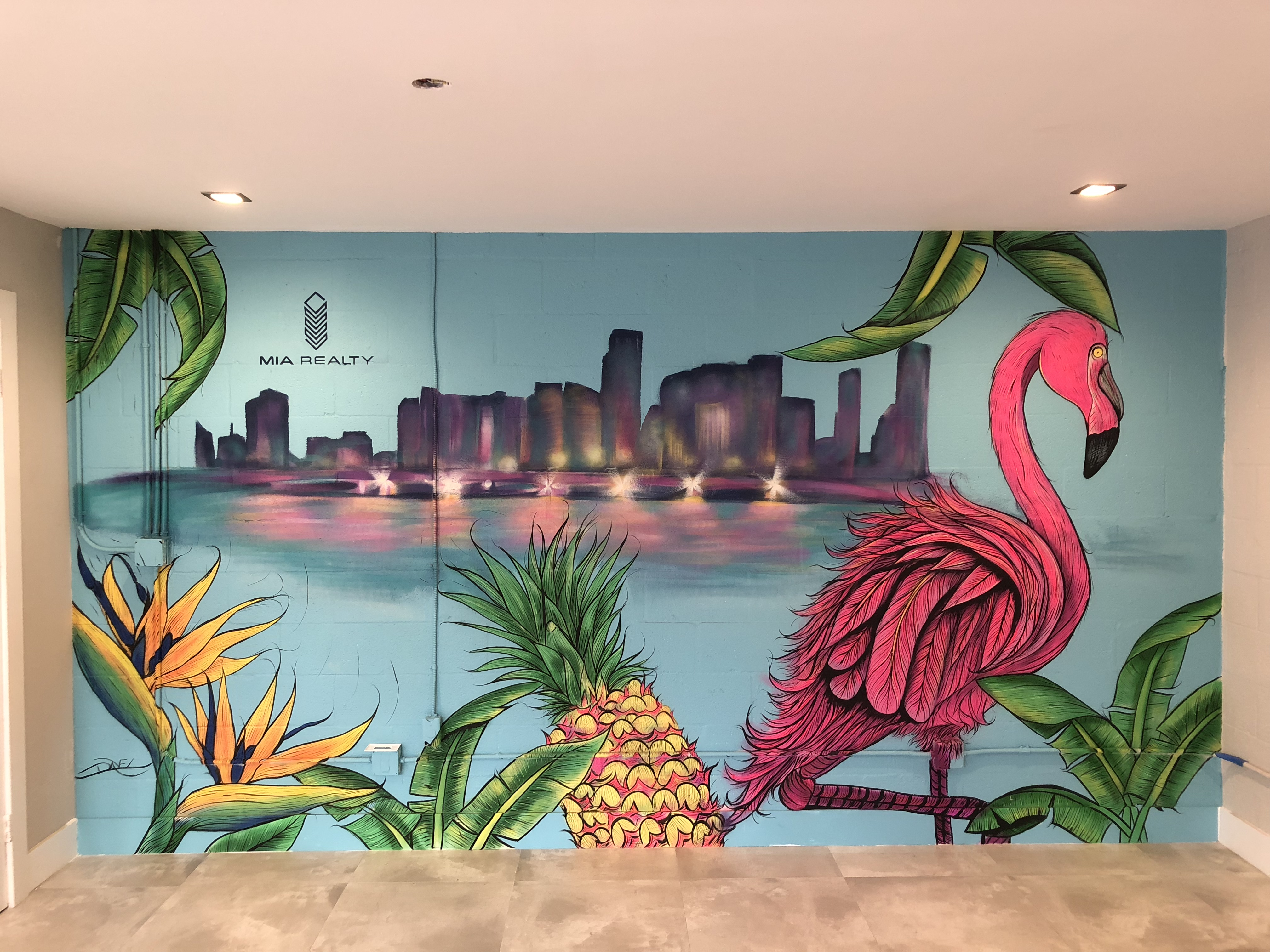 Miami Mural Painting