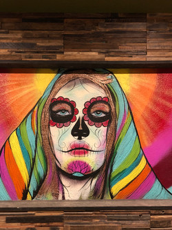 Day of the Dead Mural Painting