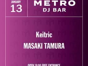 <延期>2/9 Tue.  METRO DJ BAR