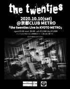 10/10 Sat.  the twenties in KYOTO METRO