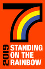 9/23 Mon.   STANDING ON THE RAINBOW 2019