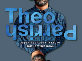 10/7 Sat α-STATION Special selected Event!Theo Parrish Japan Tour 2017 in KYOTO