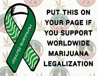 legalize marijuana banner