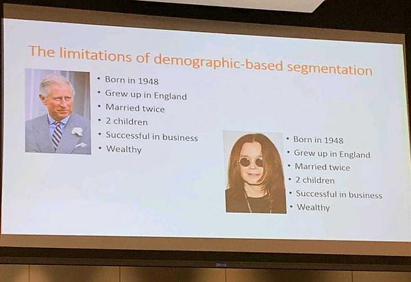 Limitations of Demographic-based Segmenation