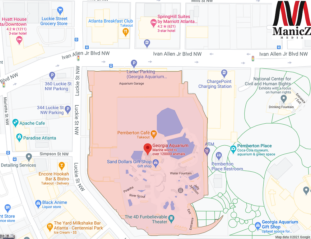 geofencing of a location for ad targeting