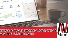 Visitor & Foot Traffic Analytics Example Dashboard