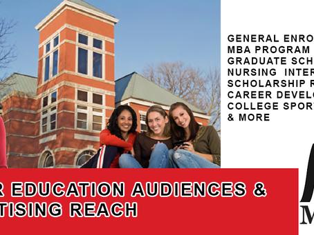 Higher Education Audience Data & Reach