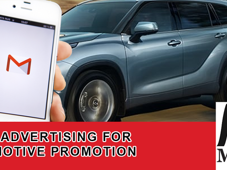 Email Advertising for Automotive Promotion