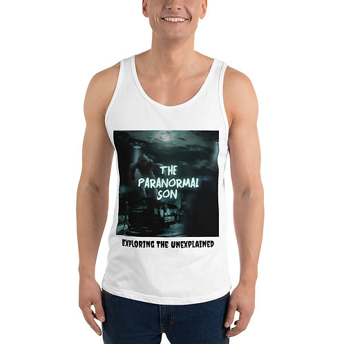 The Paranormal Son Unisex Tank Top (front print)