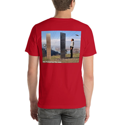 Limited Edition Monolith  Short-Sleeve Unisex T-Shirt copy (back printed)