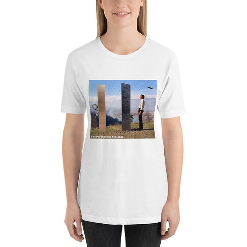 Limited Edition Monolith Short-Sleeve Unisex T-Shirt (front printed)