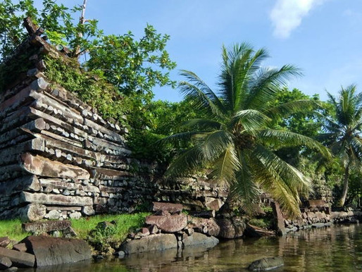 Several photos from Nan Madol