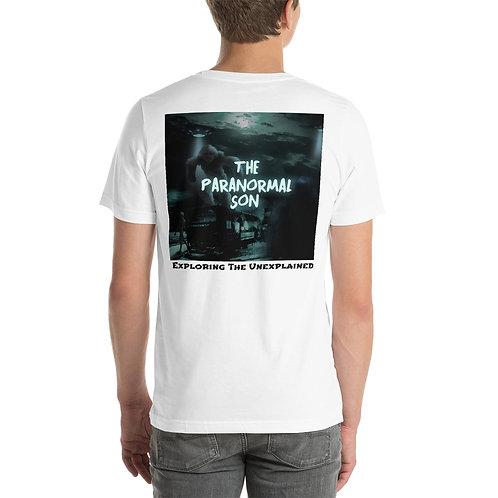 The Paranormal Son Short-Sleeve Unisex T-Shirt (back print)