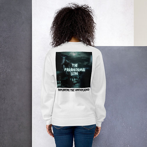 The Paranormal Son Unisex Sweatshirt (back print)