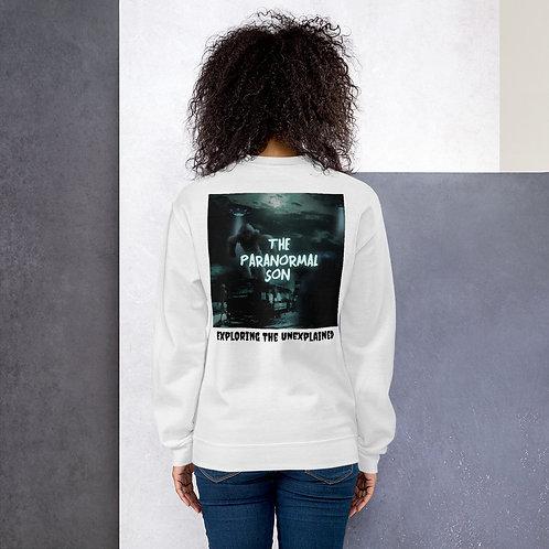 The Paranormal Son Unisex Sweatshirt (back print)
