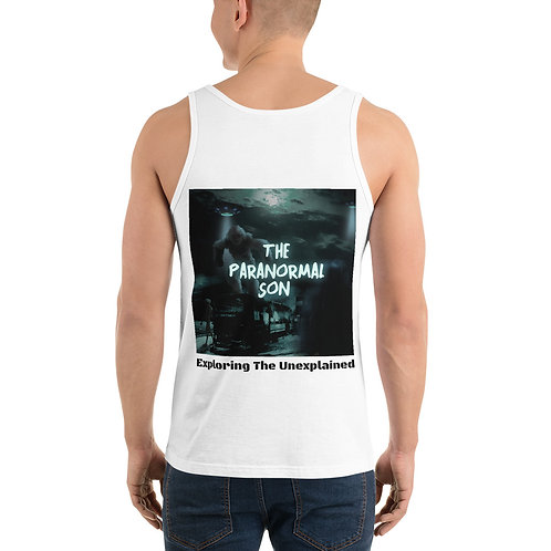 The Paranormal Son Unisex Tank Top (backprint)