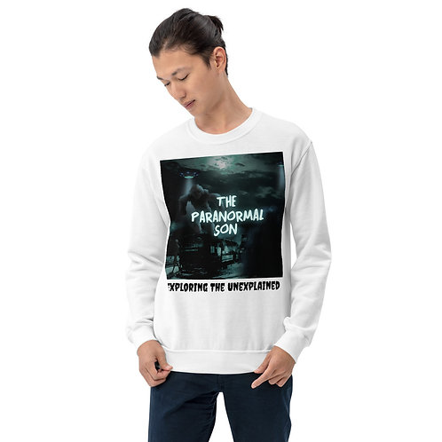 The Paranormal Son Unisex Sweatshirt (front print)