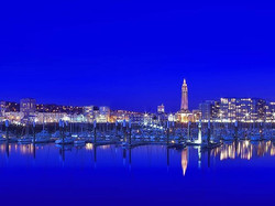 C'est beau une ville, la nuit...