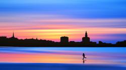 Impression soleil levant - Le Havre