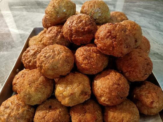 Aunty Pek's famous meatballs (Frozen). 狮子头。