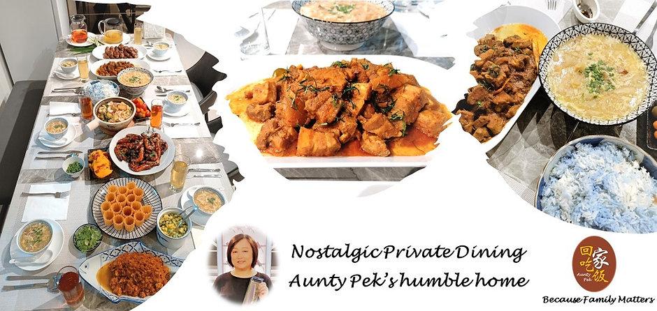 Nostalgic Private dining