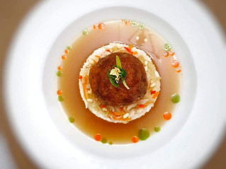 Fine Dining using Aunty Pek's Giant Lion's Head Meatballs